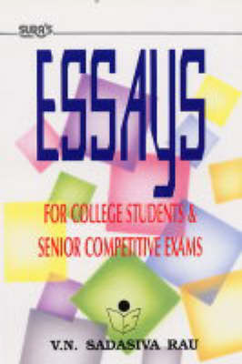 Essays: For College Level and Competitive Exams (Paperback)