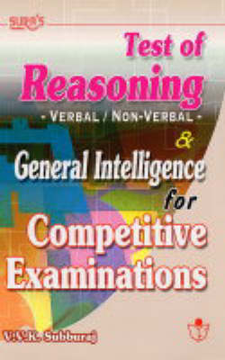Test of Reasoning and General Intelligence: Competitive Examinations (Paperback)