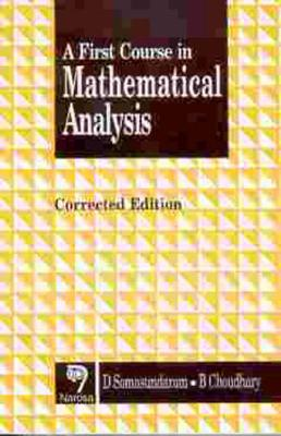 A First Course in Mathematical Analysis (Paperback)