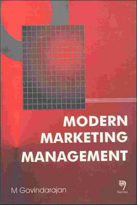 Modern Marketing Management (Paperback)