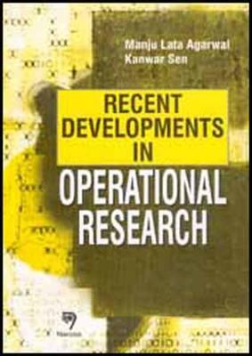 Recent Developments in Operational Research (Hardback)