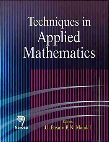 Techniques in Applied Mathematics (Hardback)