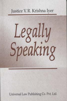 Legally Speaking (Hardback)