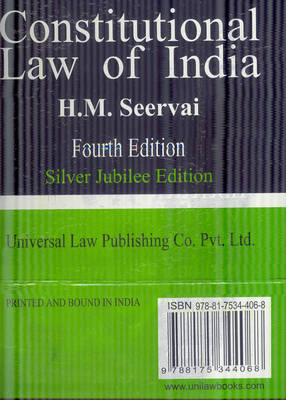 Constitutional Law of India (Hardback)