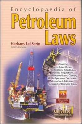 Encyclopaedia of Petroleum Laws (Hardback)