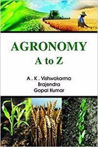 Agronomy a to Z (Hardback)