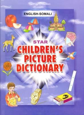 Star Children's Picture Dictionary: English-Somali (Hardback)
