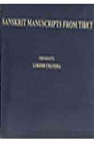 Sanskrit Manuscripts of Tibet (Hardback)