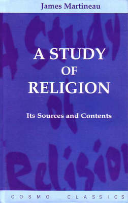 A Study of Religion (Paperback)