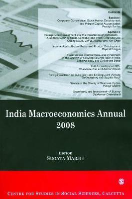 India Macroeconomics Annual 2008 (Paperback)