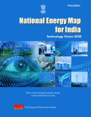 National Energy Map for India (Paperback)