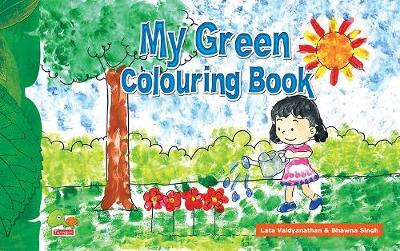 My Green Colouring Book (Paperback)