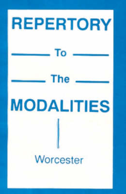 Repertory to the Modalities (Paperback)