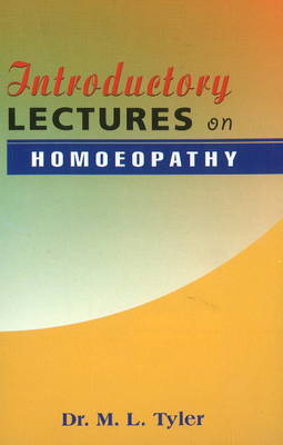 Introductory Lectures on Homoeopathy (Paperback)