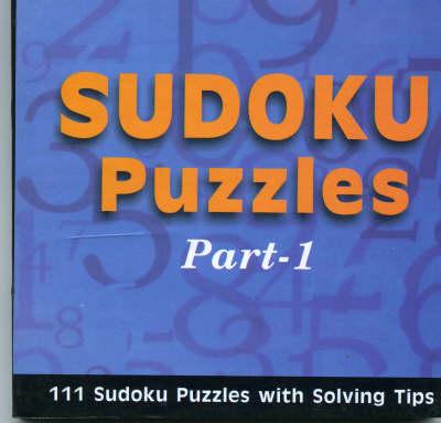Sudoku Puzzles: Pt. 1 (Paperback)