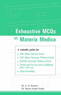 Exhaustive MCQs on Materia Medica (Paperback)