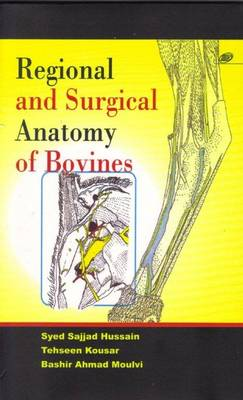Regional and Surgical Anatomy of Bovines (Paperback)