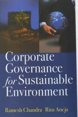 Corporate Governance for Sustainable Environment (Hardback)