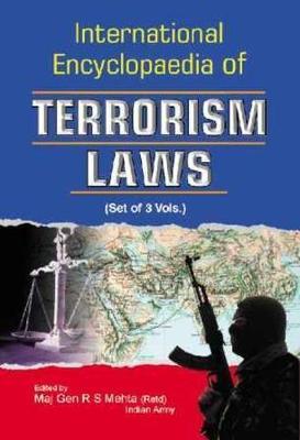 International Encyclopaedia of Terrorism Laws: Three-Volume Set (Hardback)