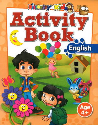 Activity Book: English Age 4+ (Paperback)