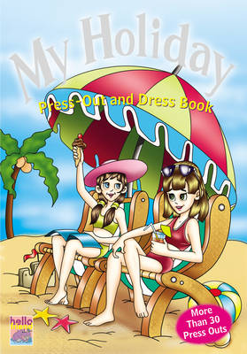 My Holiday Press Out and Dress Book (Paperback)