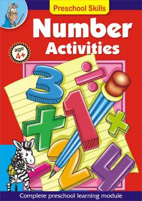 Preschool Skills: Number Activities (Paperback)