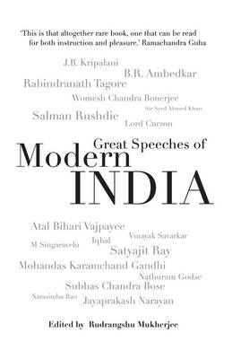 The Great Speeches Of Modern India (Hardback)