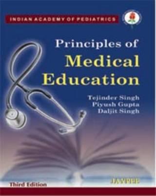 Principles of Medical Education (Paperback)