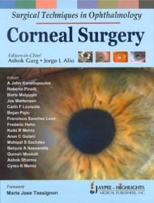 Surgical Techniques in Ophthalmology: Corneal Surgery - Surgical Techniques in Ophthalmology (Hardback)