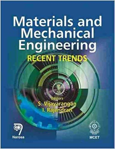 Materials and Mechanical Engineering: Recent Trends (Hardback)