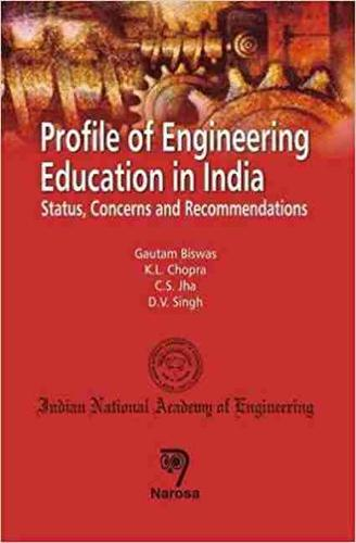 Profile of Engineering Education in India: Status, Concerns and Recommendations (Hardback)