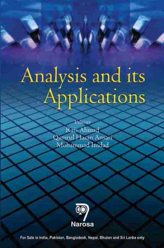 Analysis and Its Applications (Hardback)