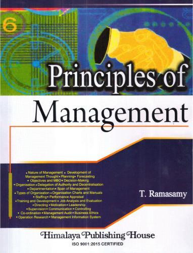 Principles of Management (Paperback)