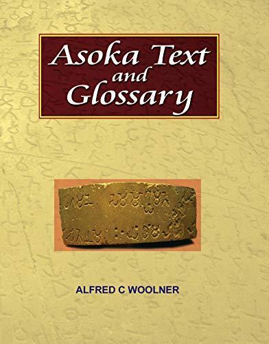 Asoka Text and Glossary (Hardback)