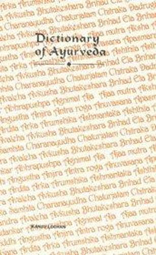 Dictionary of Ayurveda (Hardback)