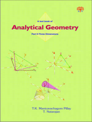 A Textbook of Analytical Geometry: Two Dimensions Pt. 2 (Paperback)