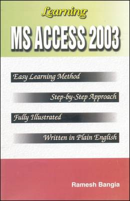 Learning MS Access 2003 (Paperback)