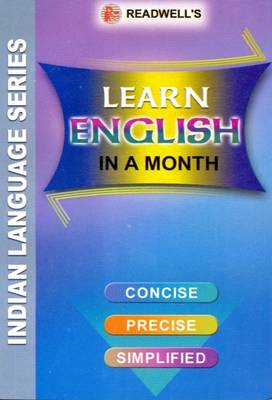 Learn English in a Month for Hindi Speakers: (Script) (Paperback)