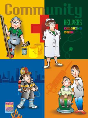 Pre-school Colouring Book: Community (Paperback)