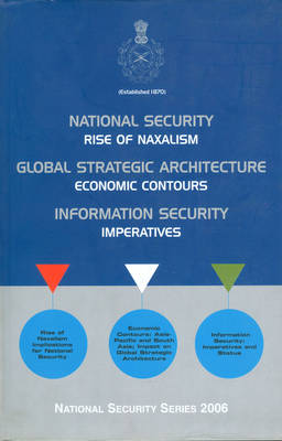 National and Global Security Architecture: Emerging Issues (Hardback)