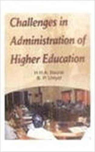 Challenges in Administration of Higher Education (Hardback)