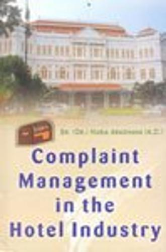 Complaint Management in the Hotel Industry (Hardback)