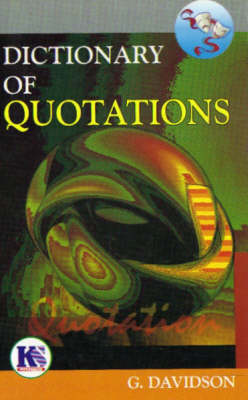 Dictionary of Quotations (Paperback)