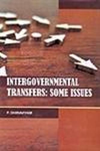Intergovernmental Transfers: Some Issues (Hardback)