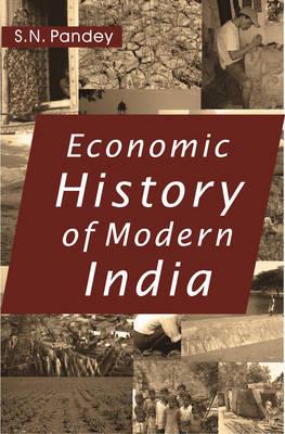 Economic History of Modern India (Hardback)