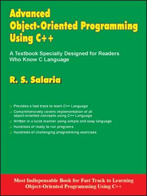 Advanced Objected-Oriented Programming Using C++ (Paperback)
