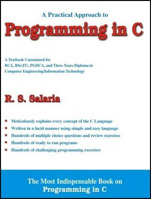 A Practical Approach to Programming in C (Paperback)
