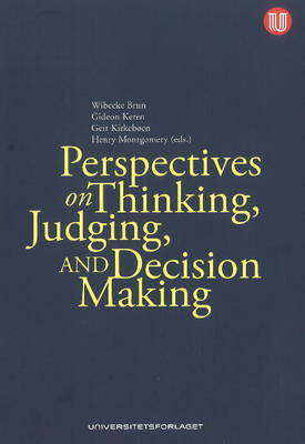 Perspectives on Thinking, Judging & Decision-Making (Paperback)