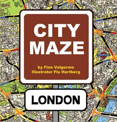 City Maze - London - book - City Maze 1