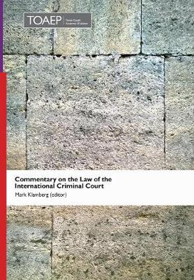 Commentary on the Law of the International Criminal Court (Hardback)
